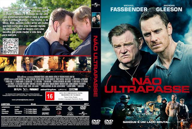 Capa DVD Não Ultrapasse [Custom]