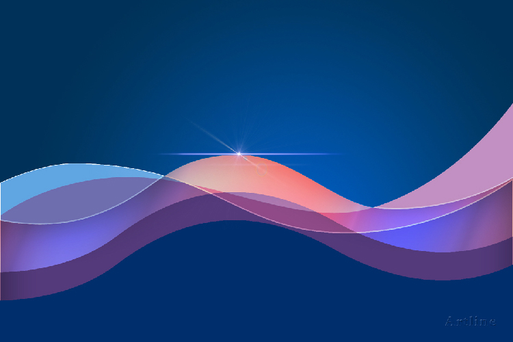 Abstract 3D Vector HD Background For Windows 8 Desktop Artline