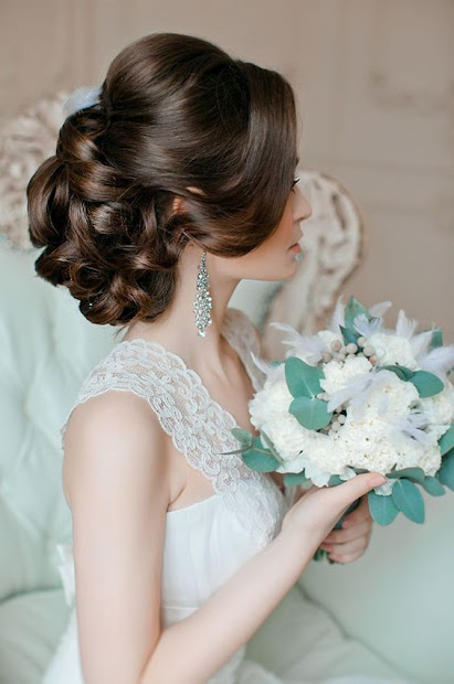 awesome bridal hairstyles brunettes