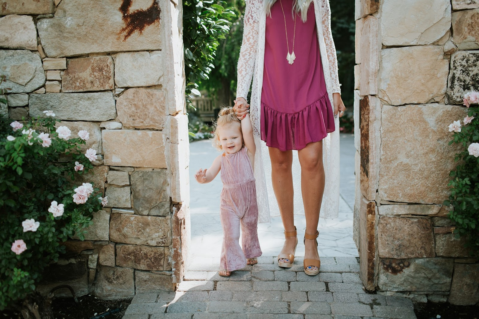 Mommy and me, Utah Fashion Blogger, Modest Outfit