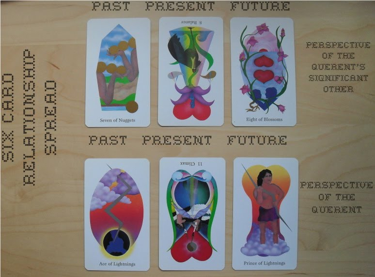 Kelly-Ann Maddox: Tarot: l-o-v-e