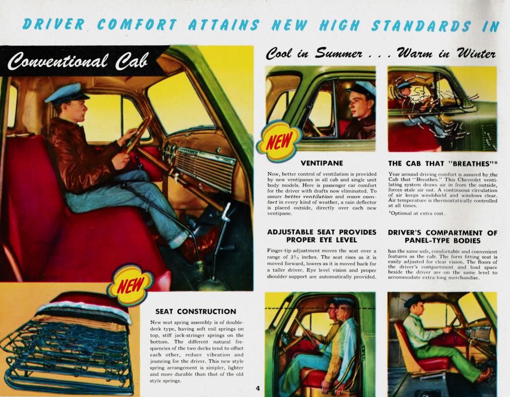 Nostalgia on Wheels: 1951 Chevrolet Trucks Brochure - Specs