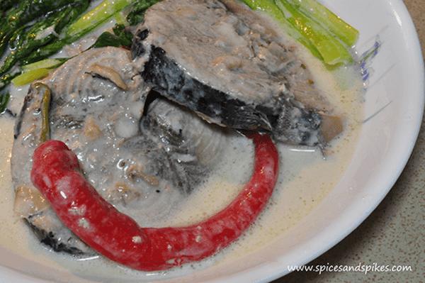 Tuna With Coconut Milk (Ginataang Talakitok) Recipe