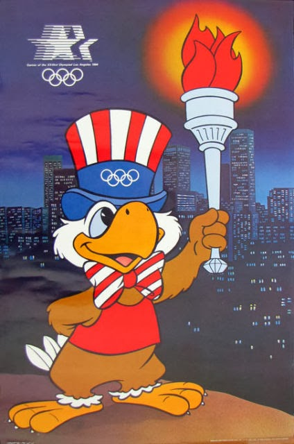 Sam the Olympic Eagle is the first thing that pops into your head, when anyone mentions the 1984 Summer Olympics