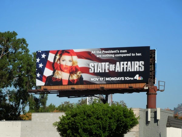 State of Affairs season 1 billboard
