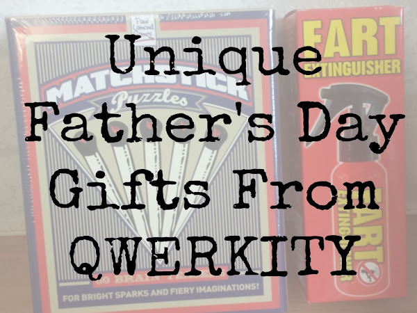 Unique Fathers Day Gifts From Qwerkity {Review}