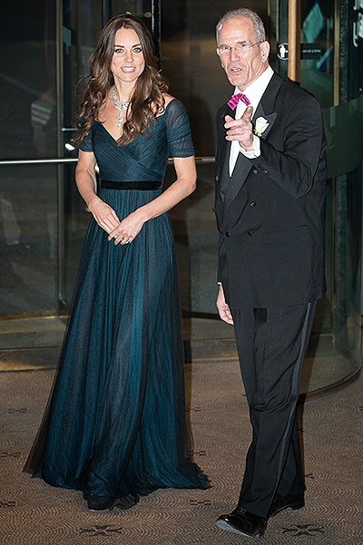 Duchess Catherine visited the National Portrait Gallery in London