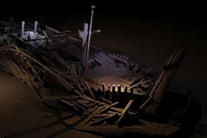 Ditemukan 40 Bangkai Kapal di Dasar Laut, Apa Isinya?