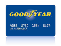 Account Register for Goodyear Credit Card