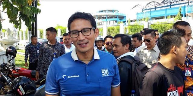 Sandiaga Bersyukur SBY Bakal Kampanyekan Prabowo Jelang Pencoblosan