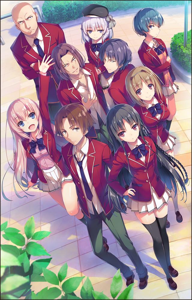 Novelas 'Yokoso Jitsuryoku Shijo Shugi no Kyoshitsu e' tendrán anime en julio
