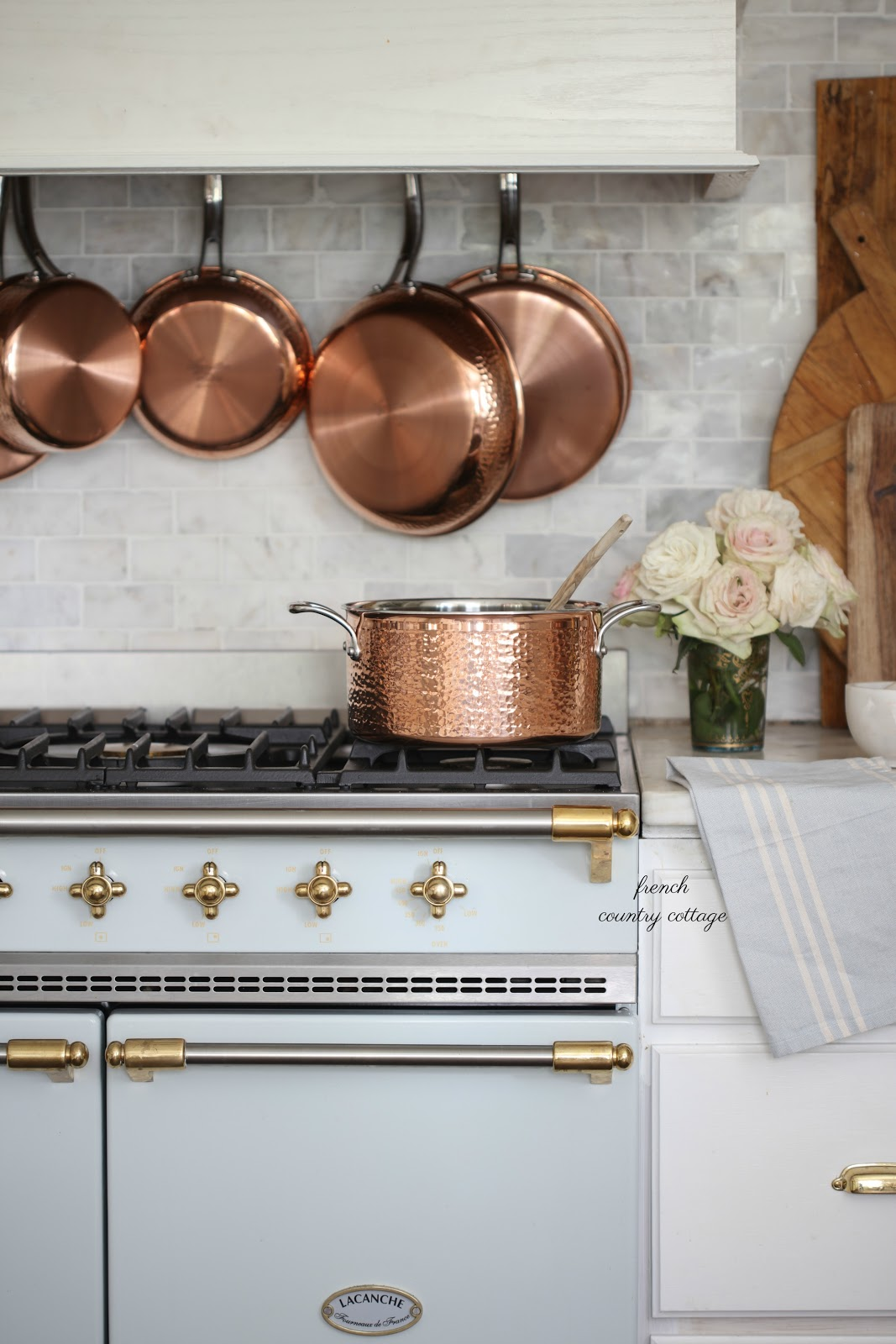 In The Kitchen Copper Love French Country Cottage