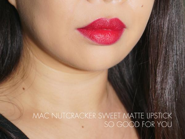 MAC Nutcracker Sweet - So Good For You