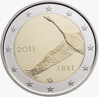 Suomen Pankki 100 kolikko 2011
