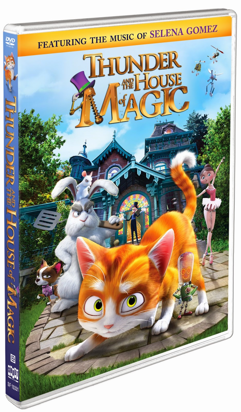 DVD Review - Thunder and the House of Magic