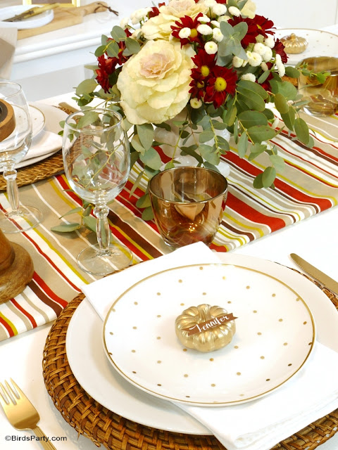 modern thanksgiving table setting