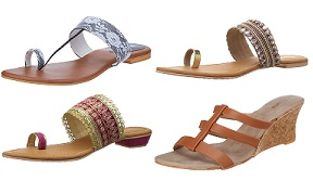 Pimento By Malaga Women's Slippers – Flat 70% Off + Extra 20% Offstarts from Rs.235 @ Amazon