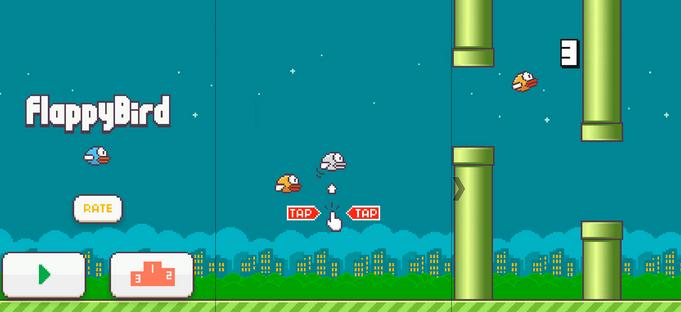 لعبة فلابي بيرد flappy bird الممتعه للكمبيوتر