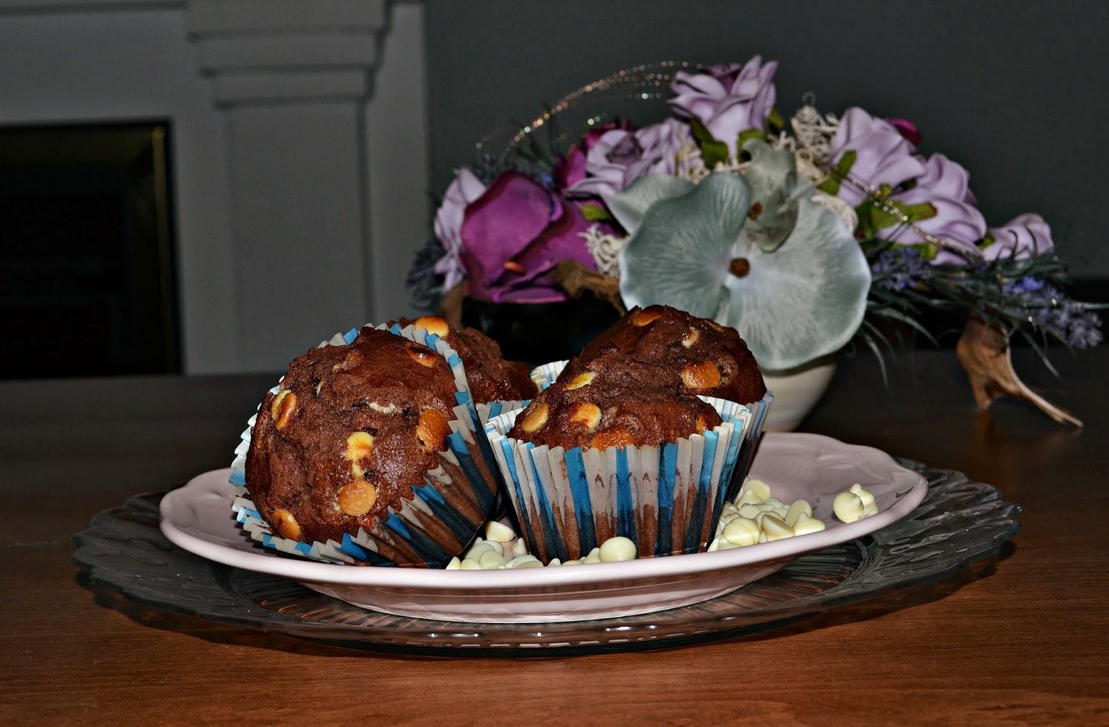 Muffiny Recept Čokoládové