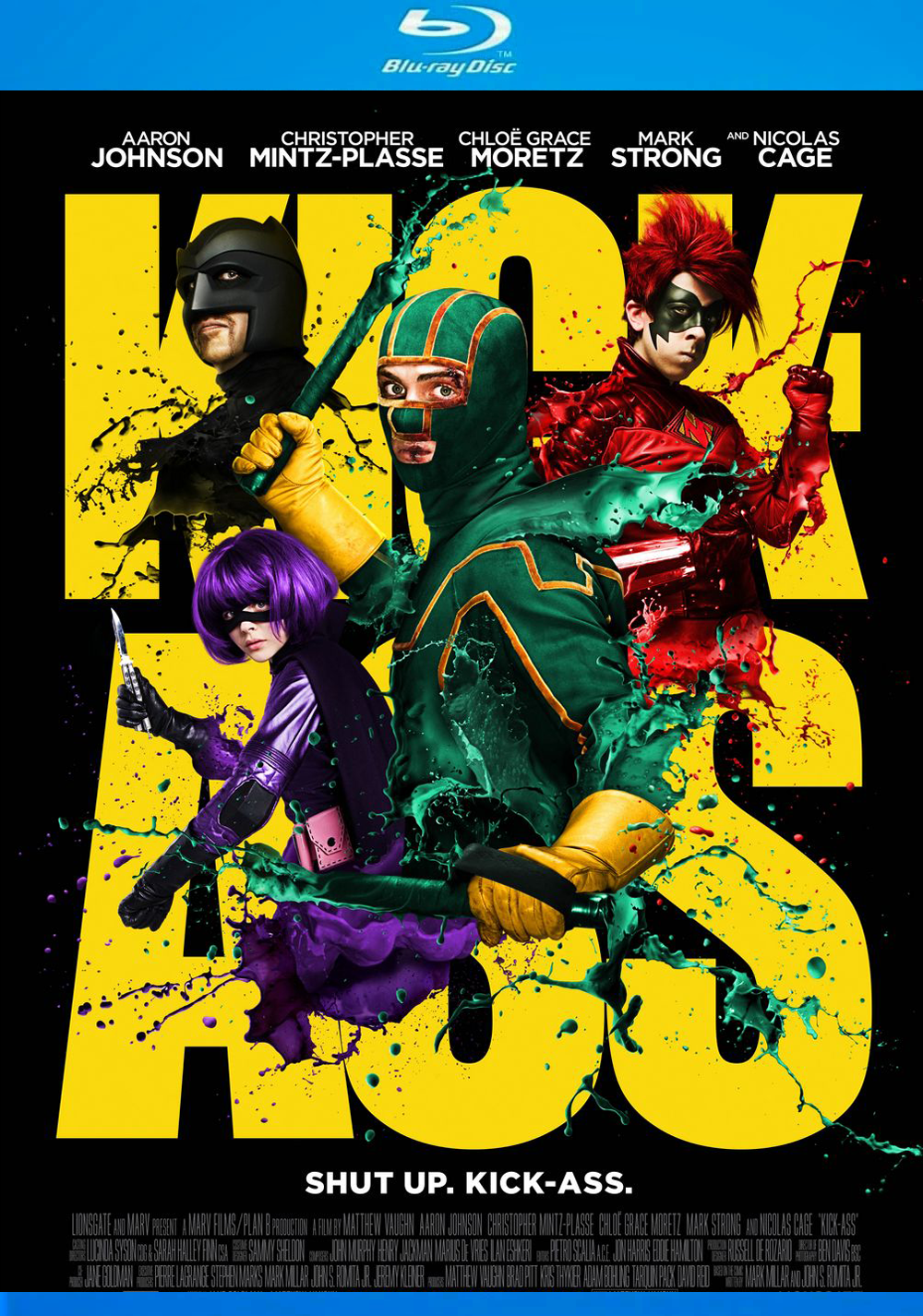 Download Kick-Ass - Quebrando Tudo (2010) - Dublado MP4 720p BDRip MEGA