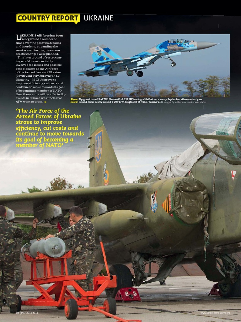 AirForces Monthly May 2014