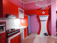 furniture interior semarang - kitchen set minibar 01