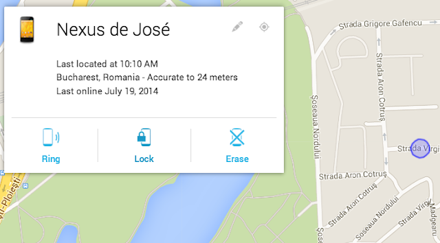 Cómo localizar/bloquear un smartphone/tablet Android con Android Device Manager