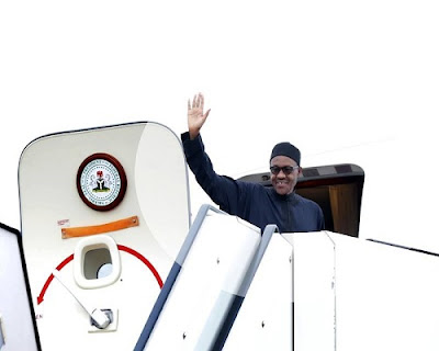 BREAKING! President Buhari Visits Troops In Borno