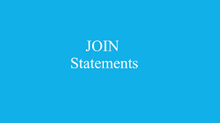 JOIN Statements