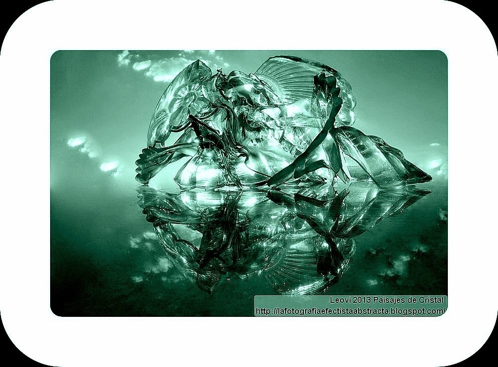 Abstract Photo 3096 Crystal Landscape 152  Your soul is my god - Tu alma es mi dios