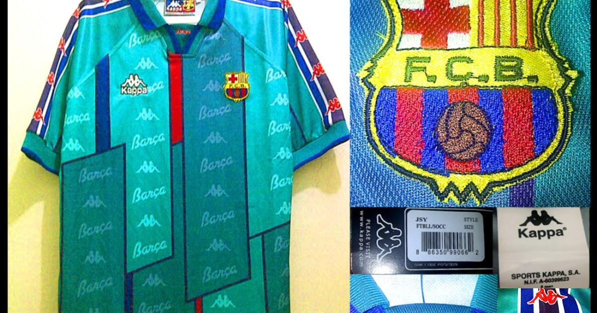 Barcelona Away 1995-97...