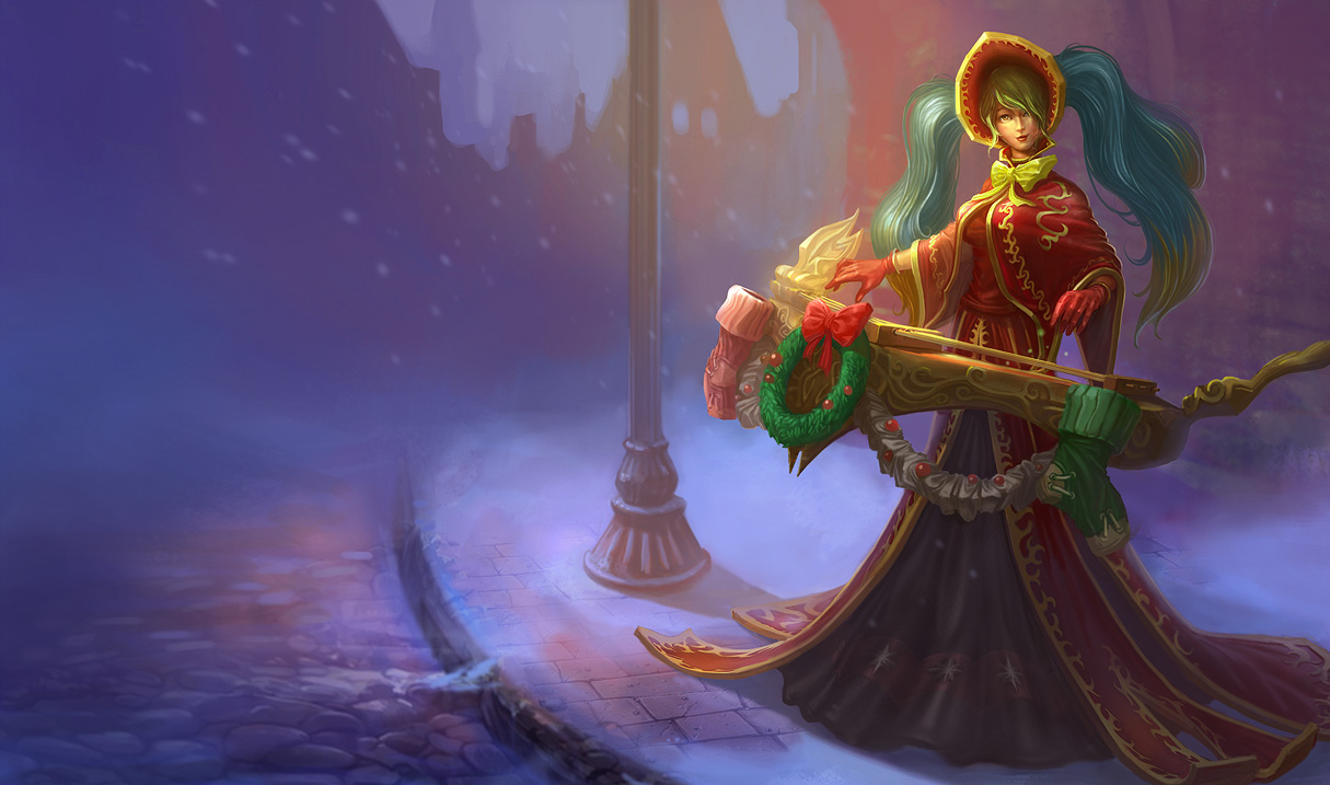 Blogger Blog Private Silent Night Sona Skin