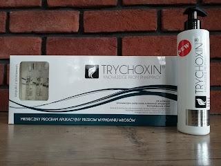 Trychoxin kapsułki i szampon na wypadanie włosów