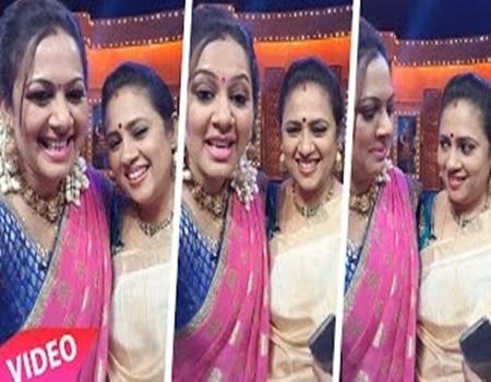 Gorgeous Archana & Lakshmy Ramakrishnan Amazing Look In saree