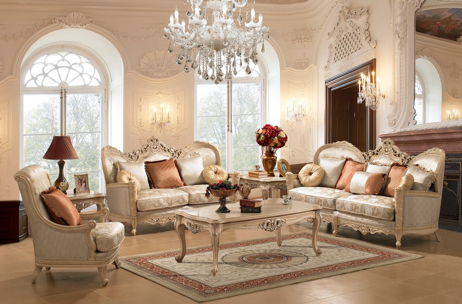 Charmant Luxurious Classic Sofas For Your Cozy Room