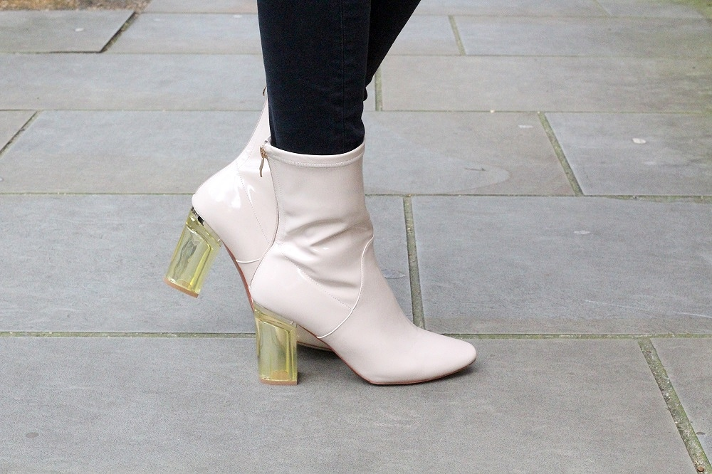 chloe perspex boots ego shoes