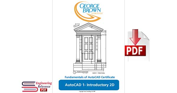 AutoCAD 1- Introductory 2D : Fundamentals of AutoCAD Certificate