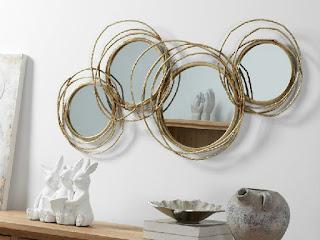 Espejo Aros Metalicos Donao