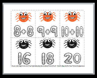 https://www.teacherspayteachers.com/Product/Doubles-Addition-Spider-Math-Doubles-Facts-329059