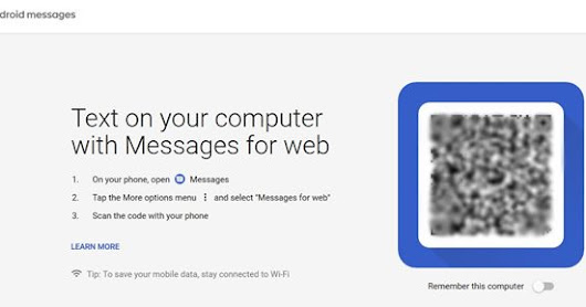 How to Use Android Messages On PC with Messages for Web