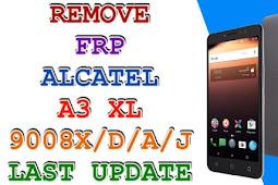 FILE BYPASS FRP Akun Google Alcatel A3 Plus (5011A) TESTED!
