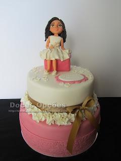 bolos comunhão doces opções