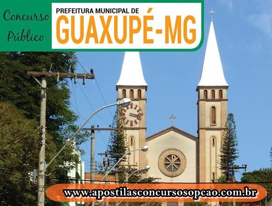 Câmara de Guaxupé / MG abre Inscrição concurso público