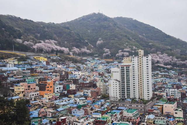 南韓釜山甘川洞文化村