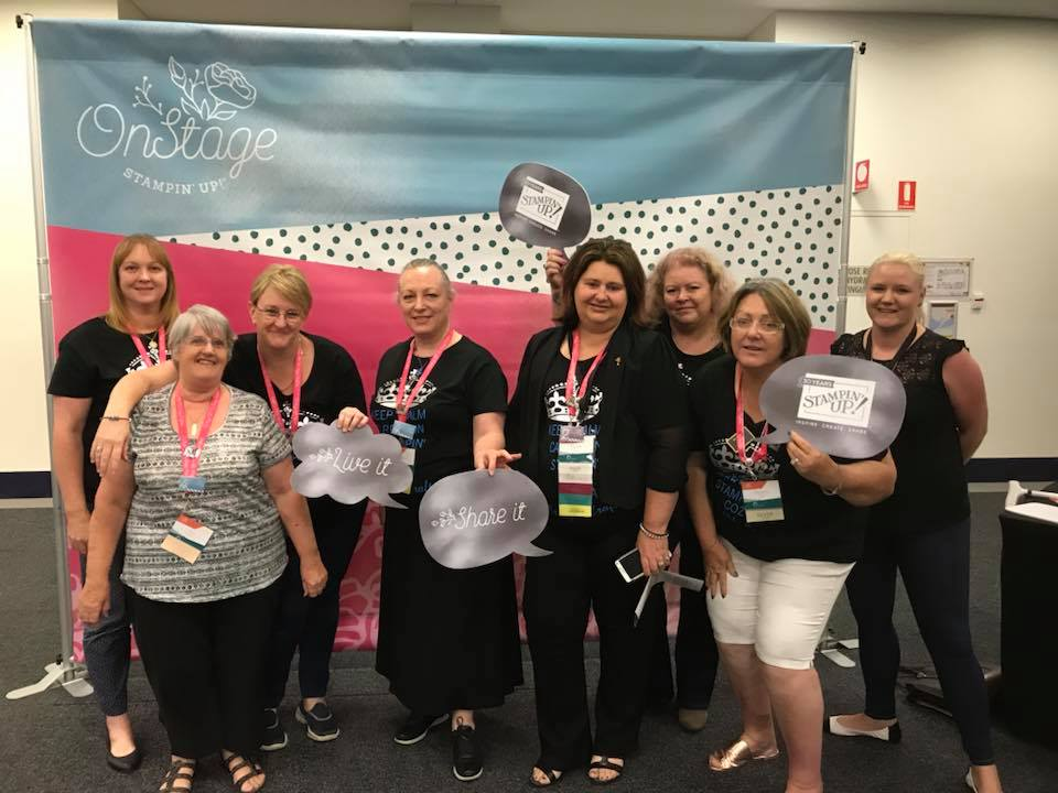 The Crazy Crafters, On Stage Gold Coast 2018, Stampin' Up Australia