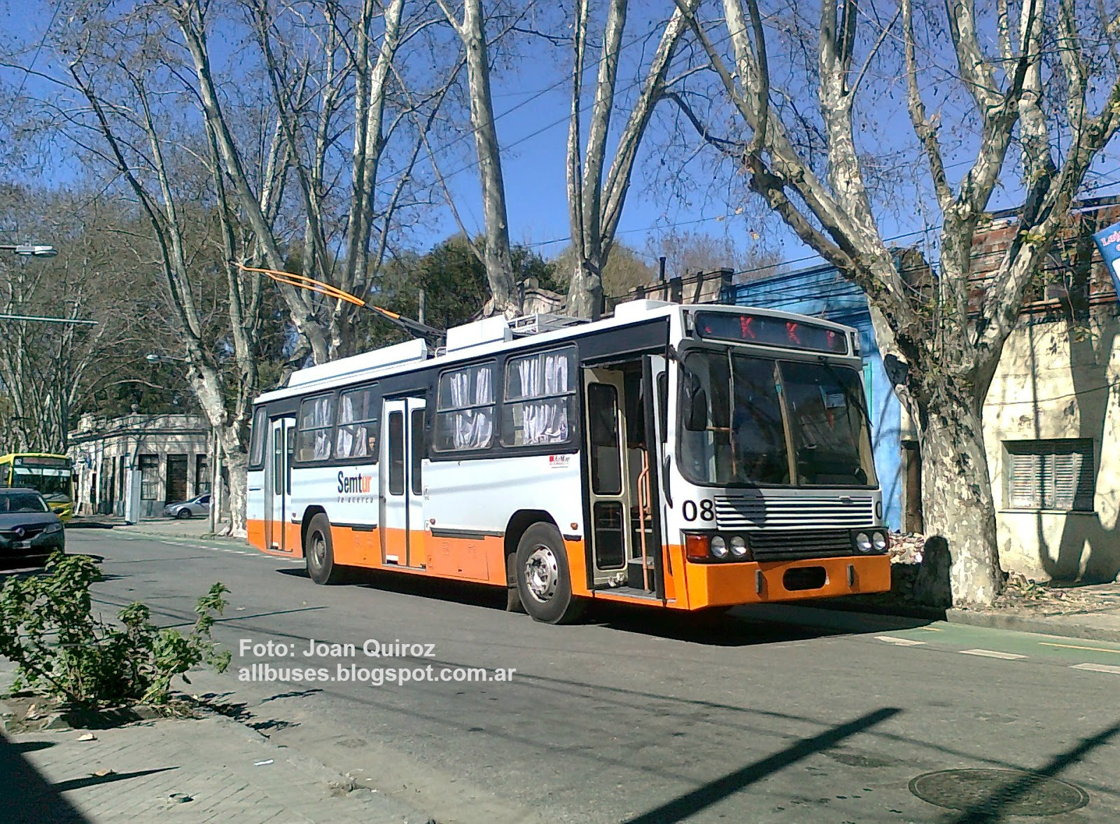 All Buses: SEMTUR - Lnea K - Interno 8