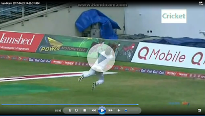 Wahab Riaz brilliant Catch