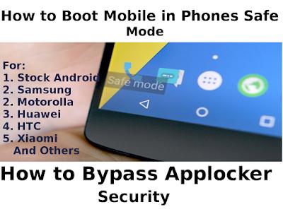 mobile in safe mode