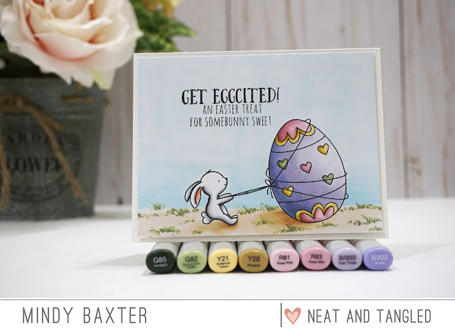 Neat and Tangled Video by Mindy Baxter - Copic Coloring and Light Source 4
