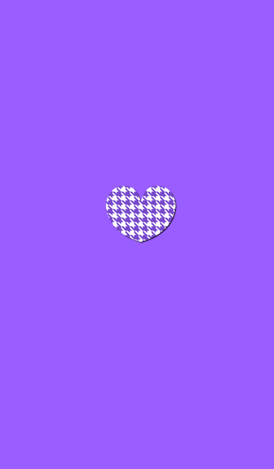 Houndstooth lattice purple